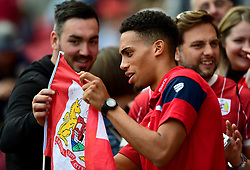 Zak Vyner of Bristol City signs autographs for fans  - Mandatory by-line: Joe Meredith/JMP - 19/08/2017 - FOOTBALL - Ashton Gate Stadium - Bristol, England - Bristol City v Millwall - Sky Bet Championship