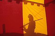 SPAIN / Tarragona / Montblanc. Medieval recreations in Spain. This village celebrates every April the Medieval week of Saint George.....