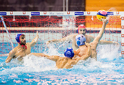 Ivan Krapic of Primorje during water polo match between Primorje Erste Bank (CRO) and Olympiacos Piraeus (GRE) in 8th Round of Champions League 2016, on April 16, 2016 in Kantrida pool, Rijeka, Croatia. Photo by Vid Ponikvar / Sportida