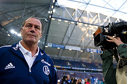 15.10.2011, Veltins Arena, Gelsenkirchen, GER, 1. FBL, FC Schalke 04 vs. 1. FC Kaiserslautern, im Bild Huub Stevens (Trainer Schalke) // during FC Schalke 04 vs. 1. FC Kaiserslautern at Veltins Arena, Gelsenkirchen, GER, 2011-10-15. EXPA Pictures © 2011, PhotoCredit: EXPA/ nph/  Kurth       ****** out of GER / CRO  / BEL ******