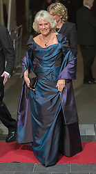 Royal Variety Performance.Camilla Duchess of Cornwall arrives at the Royal Variety Performance, London Paladium, alongside Prince Charles. Monday, 25th November 2013. Picture by i-Images