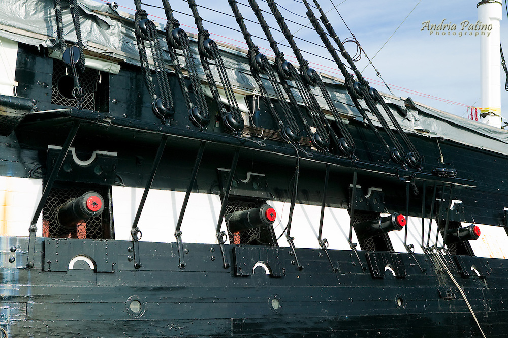 USS Constitution in Charlestown Navy Yard