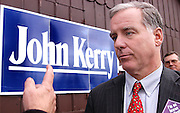 IOWA - September 27, 2003: Howard Dean campaigning for the Democratic presidential nomination in Iowa. He lost the nomination to John Kerry.
