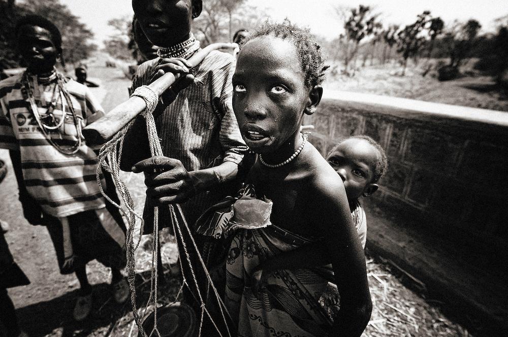 Dago, Dago, Gublak, Ethiopia Gumuz, Gilgel, Blese, valley, Africa, Ethiopia, Sudan border, child, children, mother, mothers Beles