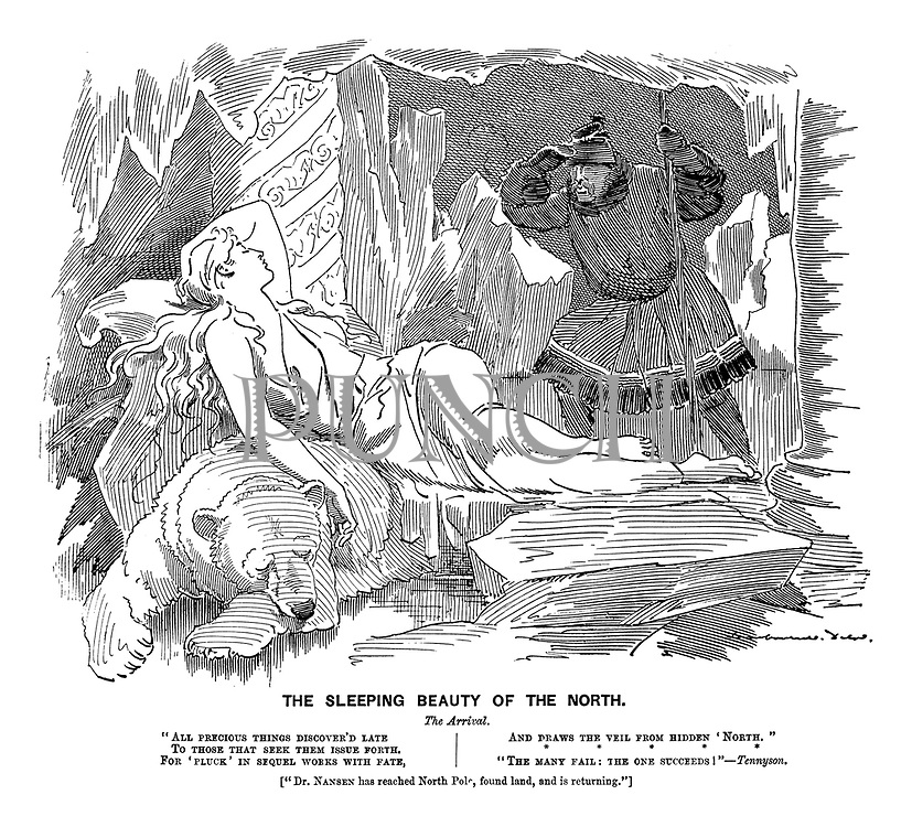 The Sleeping Beauty of the North. The Arrival. (Fridtjof Nansen reaches the North Pole)