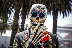 October 25, 2018 - Mexico-City, Mexico - Motorsports: FIA Formula One World Championship 2018, Grand Prix of Mexico, ..''Day of the Dead''-Performer  (Credit Image: © Hoch Zwei via ZUMA Wire)