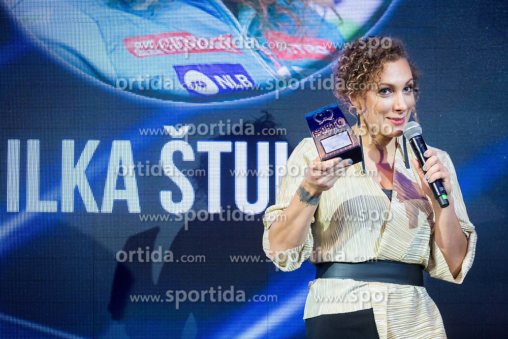 Ilka Stuhec during Sports marketing and sponsorship conference Sporto 2017, on November 16, 2017 in Hotel Slovenija, Congress centre, Portoroz / Portorose, Slovenia. Photo by Vid Ponikvar / Sportida