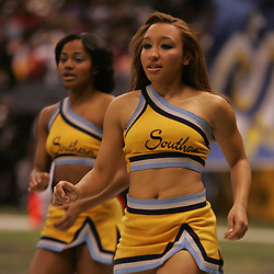 2008 November, 29: Southern University cheerleaders during a 29-14 win by Grambling State over Southern University during the 35th annual State Farm Bayou Classic at the Louisiana Superdome in New Orleans, LA.  .