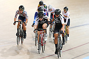 Emily Shearman and Bryony Bothat compete in the U19 & WE Madison during the 2019 Vantage Elite and U19 Track Cycling National Championships at the Avantidrome in Cambridge, New Zealand on Sunday, 10 February 2019. ( Mandatory Photo Credit: Dianne Manson )