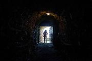 Unterirdisches Gewölbe unter den Ruinen der Kralitzer Festung wo die Brüderdruckerei gegründet wurde. Kralice nad Oslavou (deutsch Kralitz) ist eine Gemeinde in Tschechien. Sie liegt 29 Kilometer westlich des Stadtzentrums von Brno und gehört zum Okres Třebíč. Kralice war bis zur Mitte des 17. Jahrhunderts ein wichtiges Zentrum der Mährischen Brüderbewegung, hier entstand die Kralitzer Bibel.
