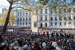Veterans attending the annual Remembrance Sunday Service at the Cenotaph memorial in Whitehall, central London, held in tribute for members of the armed forces who have died in major conflicts. Picture date: Sunday November 13th, 2016. Photo credit should read: Matt Crossick/ EMPICS Entertainment.