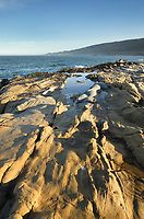 Eroded sandstone, Sonoma Coast, Salt Point State Park California