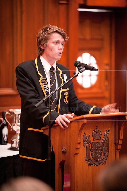 NZ Schools Debating Championships 2012