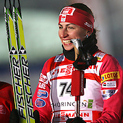 GEPA-01011034022 - OBERHOF,DEUTSCHLAND,01.JAN.10 - SKI NORDISCH, LANGLAUF - FIS Weltcup, Tour de Ski, 2,8km Damen, Prolog. Bild zeigt den Jubel von Justyna Kowalczyk (POL). Foto: GEPA pictures/ Markus Oberlaender.FOT. GEPA / WROFOTO.*** POLAND ONLY !!! ***