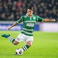 EINDHOVEN - PSV - Sparta Rotterdam , Voetbal , Eredivisie , Seizoen 2016/2017 , Philips Stadion , 22-10-2016 , Sparta speler Kenneth Dougall