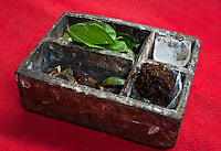 Betel nut chewing accessory box in Bali, Indonesia