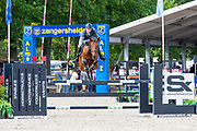 Gerald Geessink - No Limit 67<br /> FEI WBFSH World Breeding Jumping Championships for Young Horses 2017<br /> © DigiShots