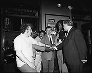 """14/07/1972<br /> 07/14/1972<br /> 14 July 1972<br /> Al """"Blue"""" Lewis at the Gaiety Theatre."""