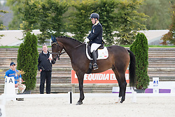 Lunghi Federico, (ITA), Laudario<br /> Grade III Team Test<br /> Para-Dressage FEI European Championships Deauville 2015<br /> © Hippo Foto - Jon Stroud<br /> 18/09/15