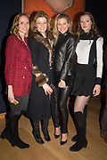 VERONICA BURGESS, JANE BURGESS, MAGDALENA WAHID, SCARLETT CAUDWELL-BURGESS, The George Michael Collection drinks.  Christie's, King St. London, 12 March 2019