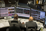 Workers inside the National Grid electricity control room maps and monitors the flow of high voltage electric power around the entire UK network from their head quarters in Berkshire, United Kingdom. (photo by Andrew Aitchison / In pictures via Getty Images)
