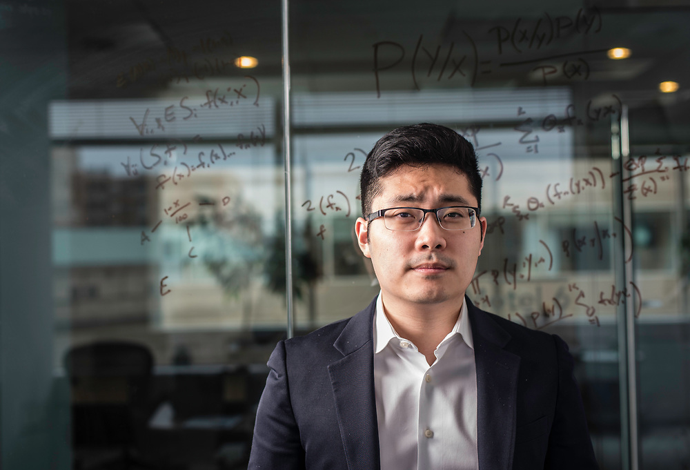 WASHINGTON, DC -- 12/6/17 -- Tim Hwang is the founder and CEO of FiscalNote which uses AI, analytics and natural language processing to automate and analyze government tasks and data…by André Chung #_AC16274