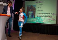08-04-2016 NED: Challenge Diabetes on Tour, Arnhem<br /> Vandaag was de presentatie van de ploeg dat de roze trui in Milaan gaat ophalen. Op maandag 25 april 2016 vertrekken ze met een team bestaande uit mensen met diabetes en een begeleidingsteam naar Milaan. Na het overhandigen van de roze trui fietsen ze van 26 april t/m 3 mei in 8 dagen 1.190 km van Milaan naar Gelderland om daar op 4 en 5 mei 2016 een promotietour met de roze trui door de provincie te maken. Op 5 mei 2016 wordt de roze trui, vlak voor de ploegenpresentatie op het Marktplein in Apeldoorn, overhandigd aan de provincie /