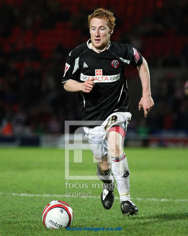 Doncaster - Tuesday September 30th, 2008: Stephen Quinn of Sheffield United  during the Coca Cola Championship match at The Keepmoat Stadium Doncaster. (Pic by Steven Price/Focus Images)
