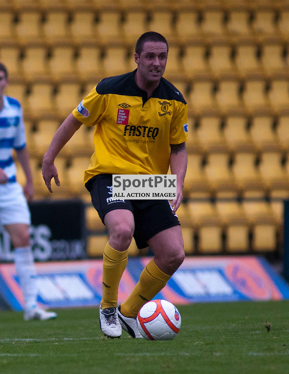 New Livingston midfielder Mark Fotheringham, Livingston v Morton SFL Division 1 League Match