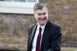 © Licensed to London News Pictures. 19/02/2019. London, UK. David Gauke - Justice Secretary arrives in Downing Street for the weekly Cabinet meeting. Photo credit: Dinendra Haria/LNP