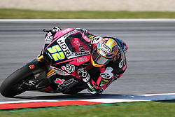 August 12, 2018 - Spielberg, Austria - 52 English Danny Kent of Team Speed Up Racing race during warm up of Austrian MotoGP grand prix in Red Bull Ring  in Spielberg, on August 12, 2018. (Credit Image: © Andrea Diodato/NurPhoto via ZUMA Press)