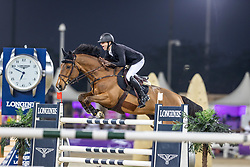Pieter (BEL), Espoir<br /> Doha - CHI Al SHAQAB 2020<br /> Commercial Bank CHI Al Shaqab Grand Prix presented by LONGINES<br /> Int. jumping competition over two rounds and jump-off (1.60 m)<br /> 29. Februar 2020<br /> © www.sportfotos-lafrentz.de/Stefan Lafrentz