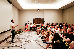 Talk to players and staff from Bristol City CEO Mark Ashton - Rogan/JMP - 15/07/2019 - IMG Academy, Bradenton - Florida, USA - Bristol City Pre-Season Tour Day 5.