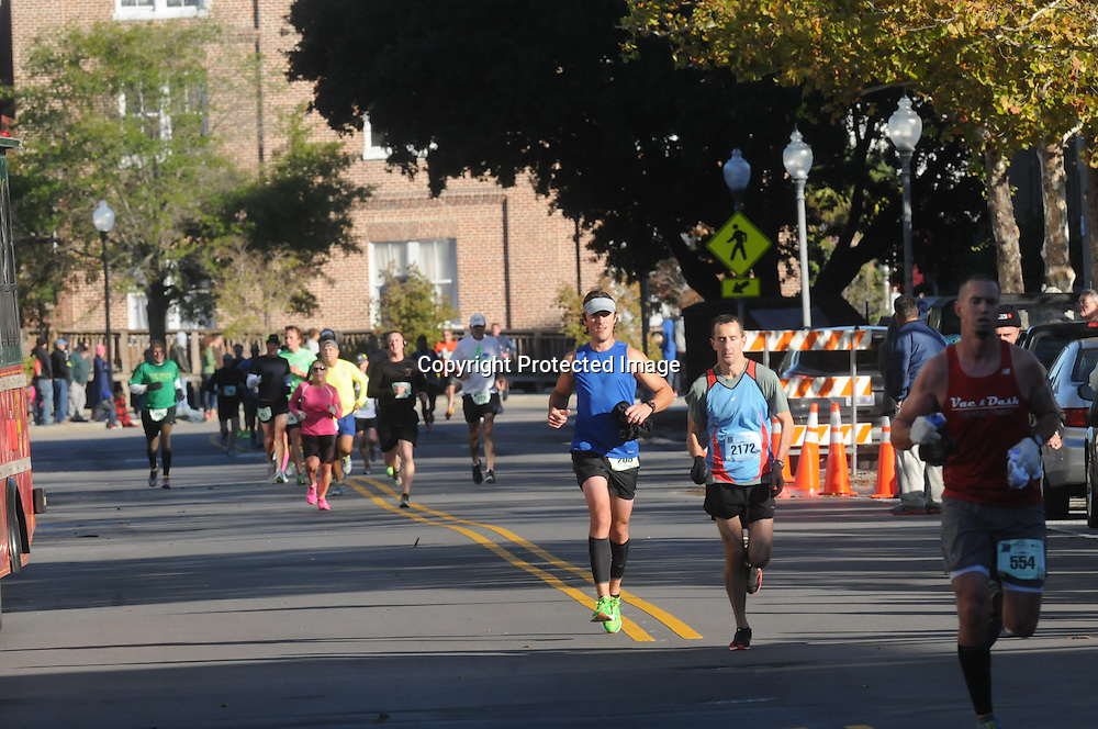 The 16th annual Battleship Half Marathon was held Sunday November 2, 2014 in Wilmington, N.C. (Jason A. Frizzelle)