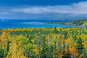 North Shore of Lake Superior in autumn<br /> North Shore of Lake Superior<br /> Ontario<br /> Canada
