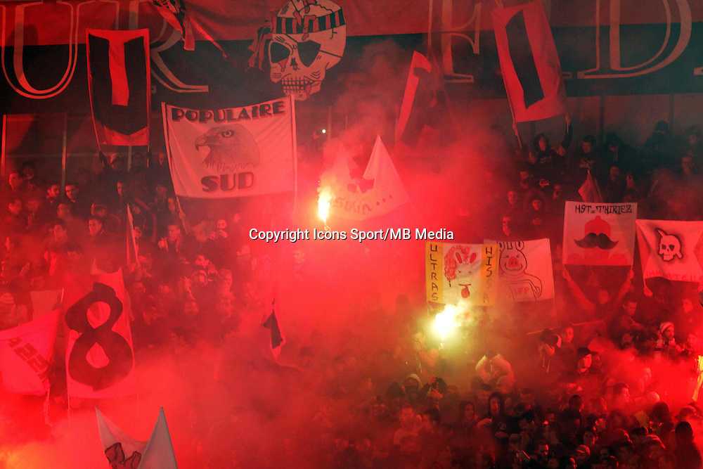 Supporters Nice  - 23.01.2015 - Nice / Marseille - 22eme journee de Ligue 1<br />