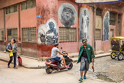 North America, Caribbean, Cuba, Havana Vienja (Old Havana), a UNESCO World Heritage Site,