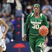 STORRS, CONNECTICUT- NOVEMBER 17: Alexis Jones #30 of the Baylor Bears in action during the UConn Huskies Vs Baylor Bears NCAA Women's Basketball game at Gampel Pavilion, on November 17th, 2016 in Storrs, Connecticut. (Photo by Tim Clayton/Corbis via Getty Images)
