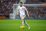 Benjamin Garuccio (#17) of Heart of Midlothian during the William Hill Scottish Cup quarter final replay match between Heart of Midlothian and Partick Thistle at Tynecastle Stadium, Gorgie, Edinburgh Scotland on 12 March 2019.