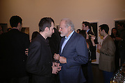 Stephane Graff and Baron Diego von Buch. 'Invisible Ink' exhibition of work by Stephane Graff . Hamiltons. Carlos Place. London. 15 March 2006. ONE TIME USE ONLY - DO NOT ARCHIVE  © Copyright Photograph by Dafydd Jones 66 Stockwell Park Rd. London SW9 0DA Tel 020 7733 0108 www.dafjones.com