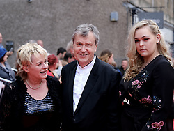 Edinburgh International Film Festival 2019<br /> <br /> Mrs Lowry And Son (World Premiere, closing night gala)<br /> <br /> Pictured: Joanne Pearce, Director Adrian Noble and Rose Noble<br /> <br /> Aimee Todd | Edinburgh Elite media
