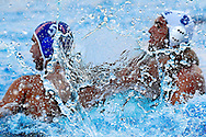 Belgrade SRB<br /> European water Polo Championships 2006, Sept. 1- 10 <br /> Water Polo Pallanuoto<br /> match Greece Vs. Croatia<br /> Water Pane<br /> We are used to see water as  a big,fluid expanse, or under the form of drops. Sometimes flows, sometimes floats in the air (fog,rain), but our eyes are not fast enough to freeze  it when mid-air. The camera can do it. --- In case of use, please mention the author -----<br /> Siamo abituati a vedere l'acqua come una vasto corpo fluido, oppure sotto forma di gocce. Qualche volta scorre, qualche volta galleggia in aria (nebbia, pioggia), ma i nostri occhi non sono abbastanza veloci per congelarla a mezz'aria. La macchina fotografica pu&ograve;.----Si prega di citare l'autore in caso di utilizzo -----<br /> Photo Giorgio Scala/Wateringphoto