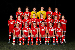 - Mandatory byline: Rogan Thomson/JMP - 21/02/2016 - FOOTBALL - Stoke Gifford Stadium - Bristol, England - Bristol City Women Team Photos.