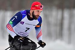 PIKE Aron, USA, LW11.5 at the 2018 ParaNordic World Cup Vuokatti in Finland