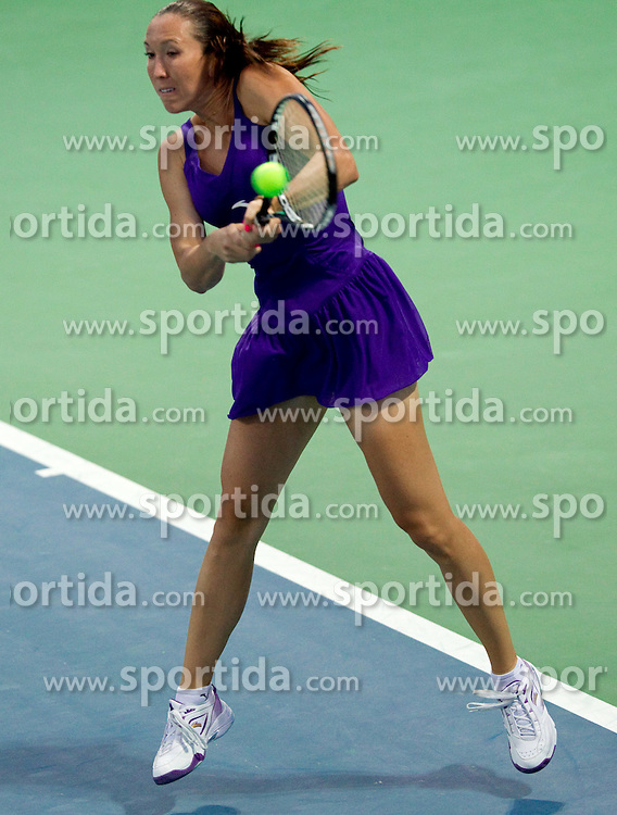 Jelena Jankovic of Serbia at 2nd Round of Singles at Banka Koper Slovenia Open WTA Tour tennis tournament, on July 22, 2010 in Portoroz / Portorose, Slovenia. (Photo by Vid Ponikvar / Sportida)
