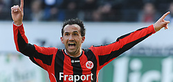 19.03.2011, Commerzbank-Arena, Frankfurt, GER, 1. FBL, Eintracht Frankfurt vs FC St. Pauli, im Bild Theofanis Gekas (Frankfurt #21), EXPA Pictures © 2011, PhotoCredit: EXPA/ nph/  Roth       ****** out of GER / SWE / CRO  / BEL ******