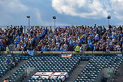 Coventry fans  during the EFL Sky Bet League 1 match between Gillingham and Coventry City at the MEMS Priestfield Stadium, Gillingham, England on 25 August 2018.