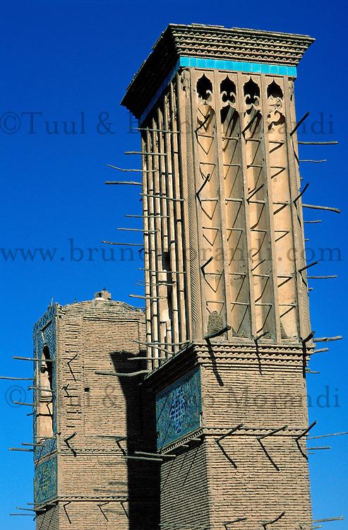 Iran, Kerman, Tour à vent // Wind Tower, Kerman, Iran