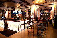Interior photograph of the Rhine Haus Eatery and Pub in St. Louis, MO.