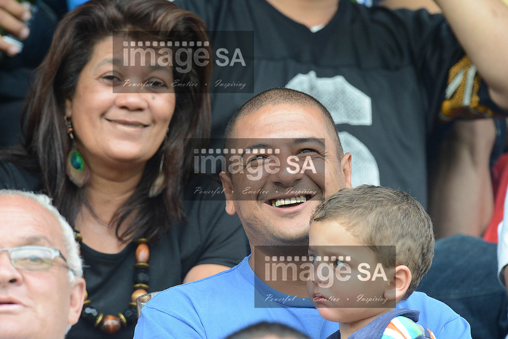 ROODEPOORT, SOUTH AFRICA - SATURDAY MARCH 2 2013, Supporters during match 22 of the Cell C Community Cup rugby match between Roodepoort and Raiders held at the Rand Leases Sports Ground, Roodepoort (Johannesburg)..Photo by Wessel Oosthuizen/ImageSA